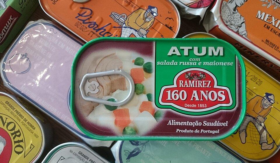 Консерва Ramirez с тунцом в оливье