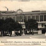 Garage Beauvalet, Лиссабон, 1906 год