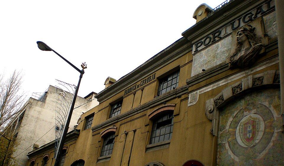 """Развалины пивной фабрики """"Portugália"""", Лиссабон, 2013. Фото fb.com/LisboaVaiMorrendoLentamente"""