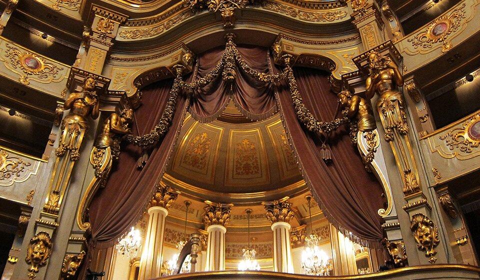 Интерьер Teatro Nacional de São Carlos