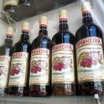 Ginjinha Espinheira, Лиссабон. Жинжа в бутылках