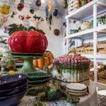 Португальская керамика в магазине Armazém das Caldas. Фото Armazém das Caldas