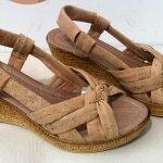 Обувь из пробки. Фото магазина Cortica.Arte