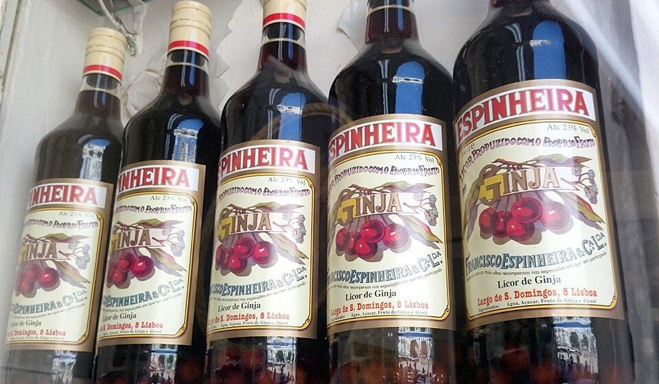 Жинжинья в бутылках