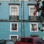 Дом, покрытый плиткой. Лиссабон, район Graça