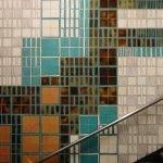 Стены станции метро Intendente в Лиссабоне