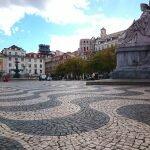 Тротуар на площади Rossio