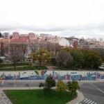 Стена азулежу известного артиста André Saraiva в Лиссабоне