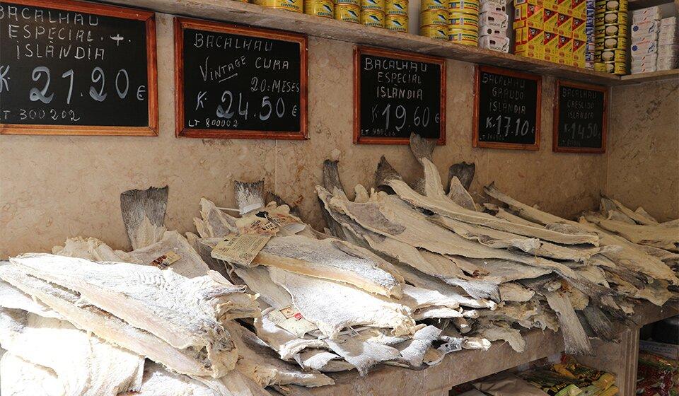 Бакаляу (bacalhau) - соленая сушеная треска