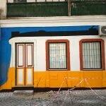 Дом в цветах лиссабонского трамвая