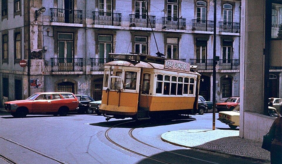 Лиссабонский трамвай в 1979-м году