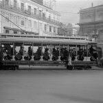 Трамвай в Лиссабоне, 1930-е года. Из архивов студии Horácio Novais