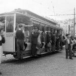 Трамвай в Лиссабоне, 1940-е года. Из архивов студии Horácio Novais