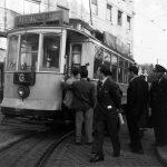 Трамвай в Лиссабоне, 1950-е года. Из архивов студии Horácio Novais