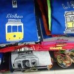 Футболки с изображением лиссабонского трамвая