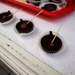 Жинжа в рюмке из шоколада
