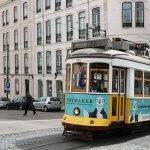 Трамвай №28 на улицах города