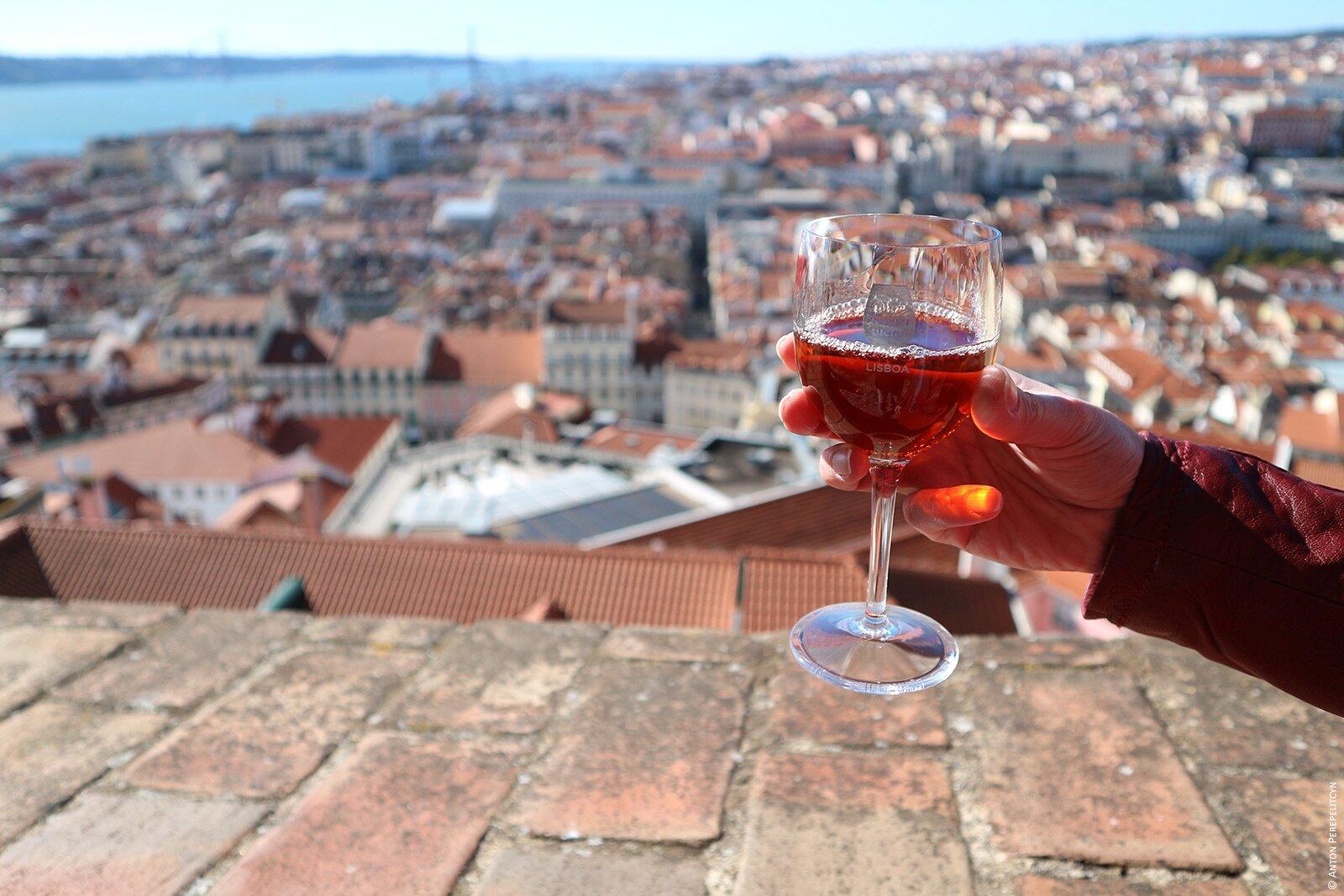 Вино в São Jorge